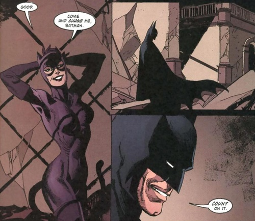 Batmab Catwoman