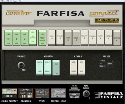 farfisa vintage compact