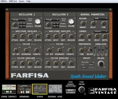 farfisa vintage synth