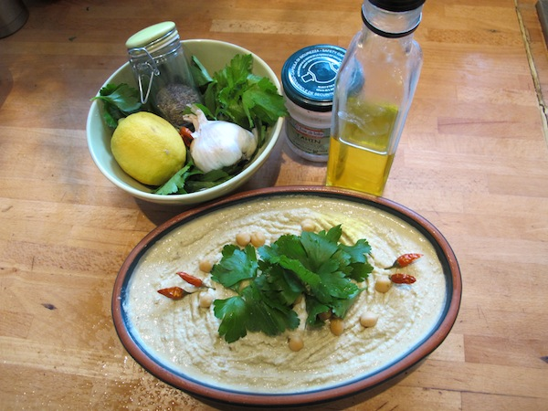 hummus ingredienti